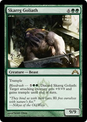 SPARROW MAGIC Gatecrash 4x Alms Beast   M//NM mtg