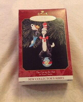 Hallmark Keepsake The Cat In The Hat Dr. Suess Books First In Series 1999