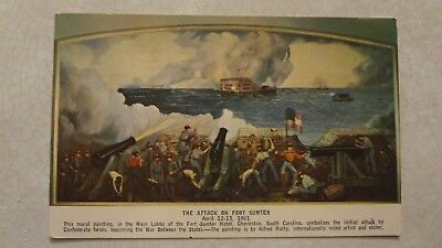 Charleston-South Carolina-The Attack on Fort Sumter