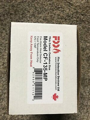 FIRE DETECTION DEVICES CF-135-MP / CF135MP 135 Fix Heat Detector Free Shipping