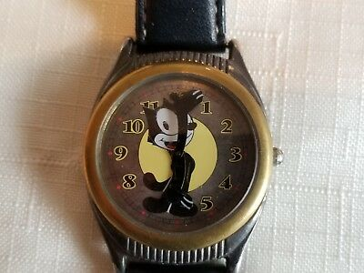Vintage Limited Edition Fossil Felix the Cat wrist watch