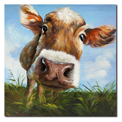 Unframed Animal View DIY Art Oil Painting Print Canvas Pictures Home Wall Room