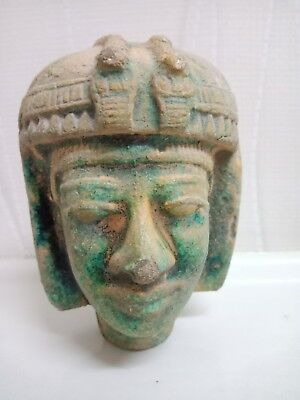 A rare piece of glazed porcelain. Ancient Egyptian civilization