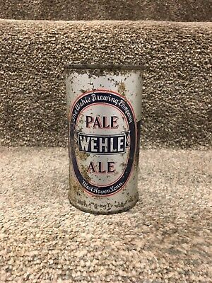 WEHLE PALE ALE OI/IRTP 12oz FLAT TOP BEER CAN, WEST HAVEN, CT; NO RESERVE!