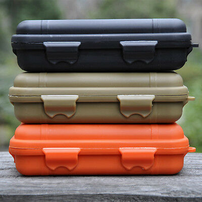 Outdoor Waterproof Shockproof Plastic Survival Container Storage Case EDC Box TR