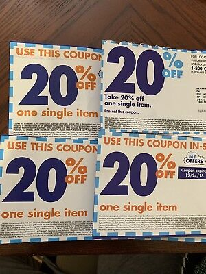 Four 20% Off Bed Bath And Beyond Coupons!!!