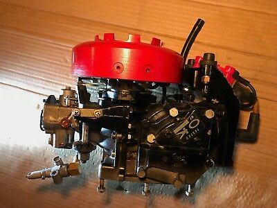 1976 MERCURY 4.5 hp OUTBOARD MOTOR 2 STROKE POWERHEAD CARB COIL MARINER 9374745