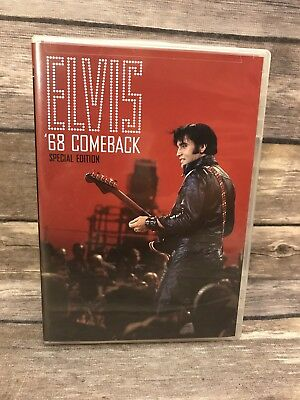 Elvis 68 Comeback Special Edition (DVD, 2006) w/ Insert MINT Disc VG