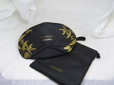 VIP Chanel SLEEPING EYE MASK SUBLIMAGE (TRAVEL MASK) WITH SMALL BAG