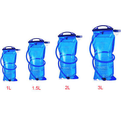 Outdoor 1L/3L Mouth Water Bladder Bag Running Hiking Cycling Hydration Packs
