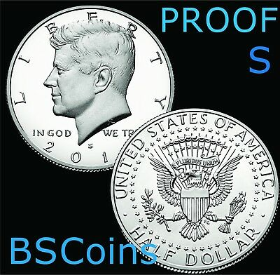 2019 S Kennedy PROOF Clad Half Dollar Gem Deep Cameo - In Stock - Ship TODAY!!