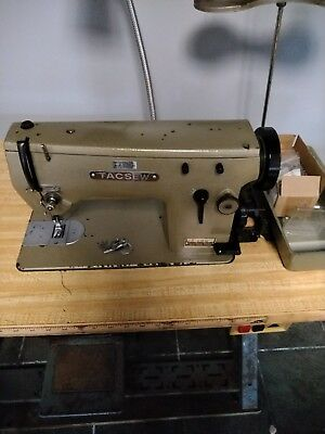 Tacsew T20u / Singer 20u Industrial Zigzag Straight Stitch Sewing Machine
