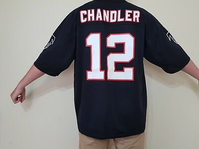 NFL Jersey #12 Chris Chandler Atlanta Falcons Home Size 52 XL