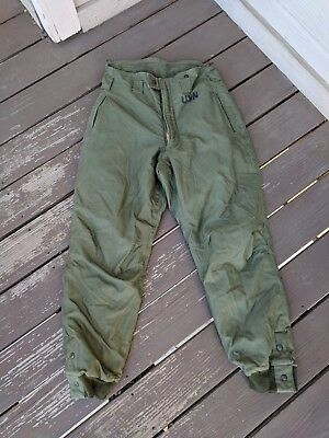 US Navy trouser, intermediate cold weather size medium