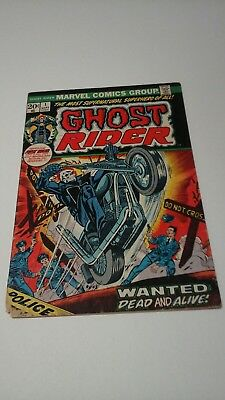 Ghost rider 1 1973 (1st G.R. in his own series ) VG