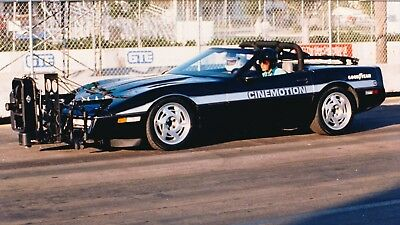 1988 Chevrolet Corvette Convertable Motion picture plarform Built to The Corvette Challenge Specifications