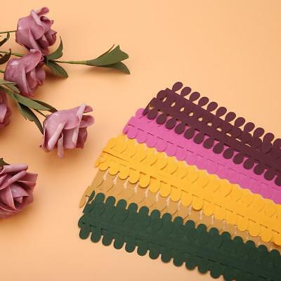 5Pcs Blossom Flower Quilling Paper Strips Colorful Origami DIY Paper Hand Craft