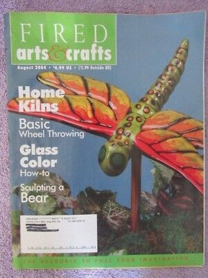 Fired Arts & Crafts Magazine - August 2004