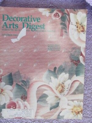Decorative Arts Digest - September 1988