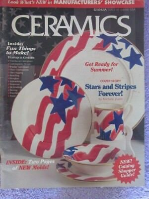 Vintage Ceramics Magazine June 1996 - Stars and Stripes Forever