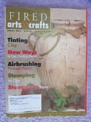 Fired Arts & Crafts Magazine - October 2004