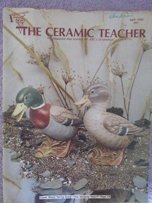 The Ceramic Teacher - April 1982- The Magazine That Teaches The ABCs of Ceramics