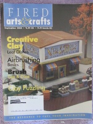 Fired Arts & Crafts Magazine - September 2004