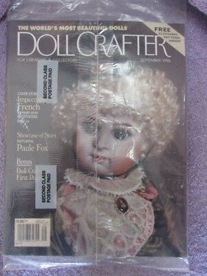 Doll Crafter Magazine - September 1996 (1 Still in Original Shipping Plastic)