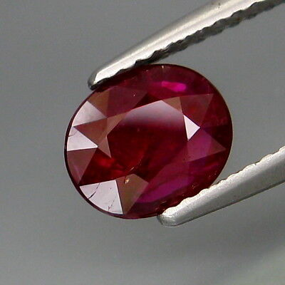 1.20Ct.UNHEATED! Best Color Natural Hot Red Pink Ruby Winza,Tanzania