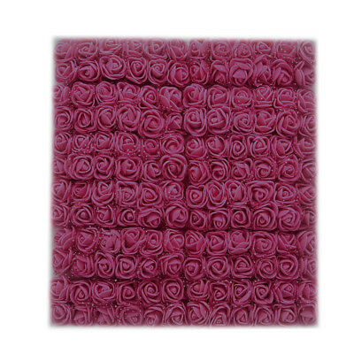 144Pcs/ Pack Mini Foam Artificial Rose Flower Bouquet Wedding Featival Decor FG
