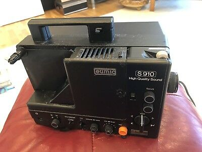 Eumig S910Rare Vintage Retro Super 8 Projector 8mm 1960/70s With Sound