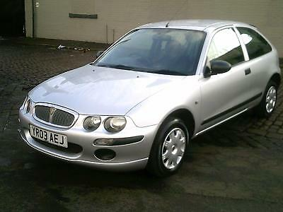 2003 Rover 25 1.1I 3 Door In Silver