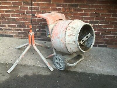 Belle Minimix 150 240V Electric Cement Mixer With Stand Gwo