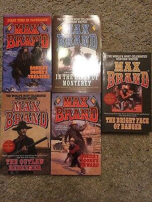 Max Brand 5 Book Western collection D
