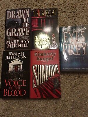 Horror collection of 5 new paperback fiction novels