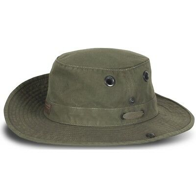 Tilley T3 Wanderer Unisex Medium Snap Up Brim Hat T3W Olive Size  7 1  2ddb4af5ad0