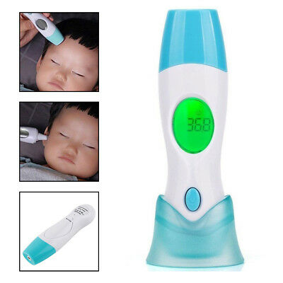 4 in 1 Digital Medical Ear & Forehead Thermometer Adult Baby Infrared IR LCD
