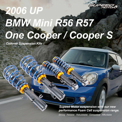 Adjustable Coilovers Suspension Kits fit BMW Mini R50 R52 R53 One Cooper S