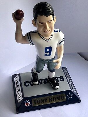 Limited Edition Tony Romo Dallas Cowboys Bobble Head NFL Football Super Bowl