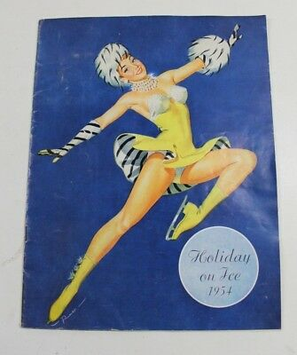 holiday on ice 1954 programme