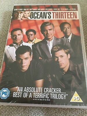 Ocean's Thirteen (DVD, 2007) New And Sealed