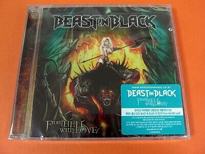 BEAST IN BLACK - From Hell With Love CD +2 Bonus Tracks (Sealed)