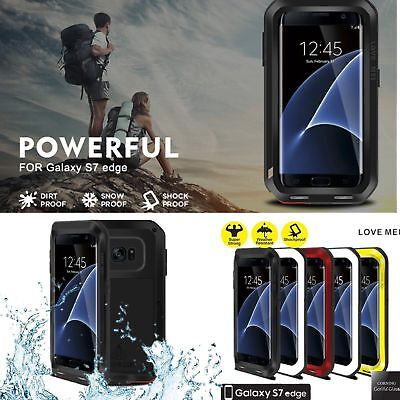 LOVE MEI POWERFUL Gorilla Glass Shockproof Waterproof Aluminum Metal Case WE