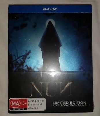 Nun, The (Steelbook) (Blu-ray) (2018) (Region B) Brand New and Sealed