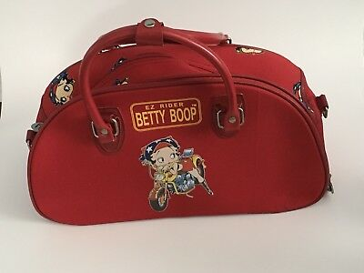 Betty Boop Easy Ride Red Duffle Bag