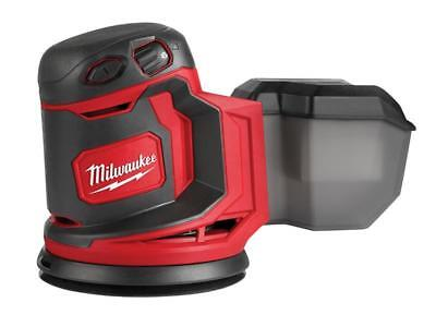Milwaukee Power Tools MILM18BOS0 M18 BOS125-0 Random Orbital Sander 18V Bare Uni