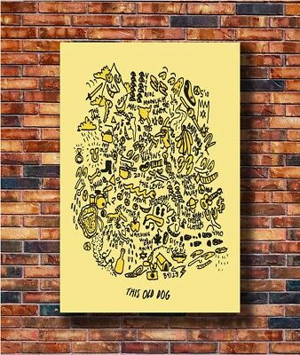 T1476 20x30 24x36 Silk Poster Mac DeMarco Post PUNK Old Dog Art Print