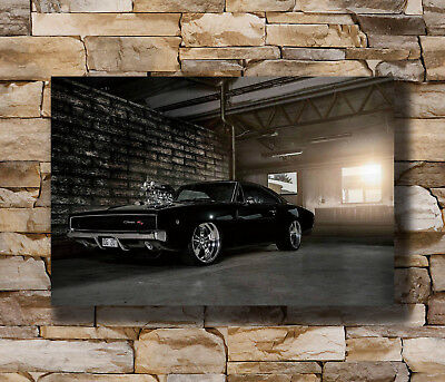 New Dodge Charger 1969 Fast and Furious Super Car -20x30 24x36 Poster T-280