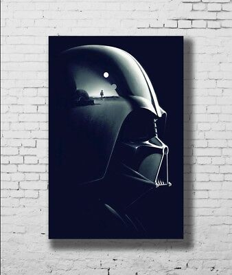Star Wars Darth Vader Face Hot New Movie Fan New Print Poster 24x36 27x40 P-1451
