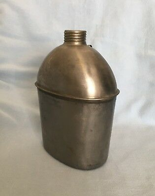 1943 WWII Canteen Vollrath stainless steel